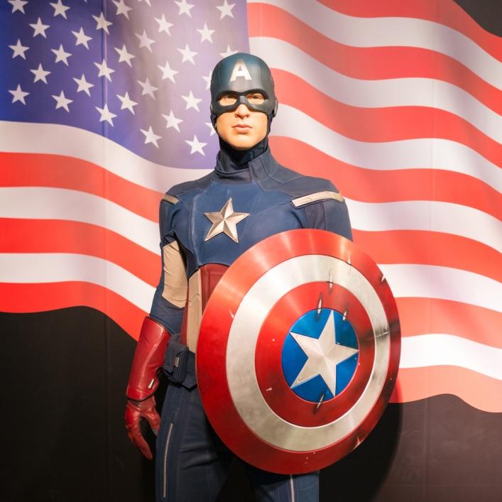 Captain America pic shutterstock