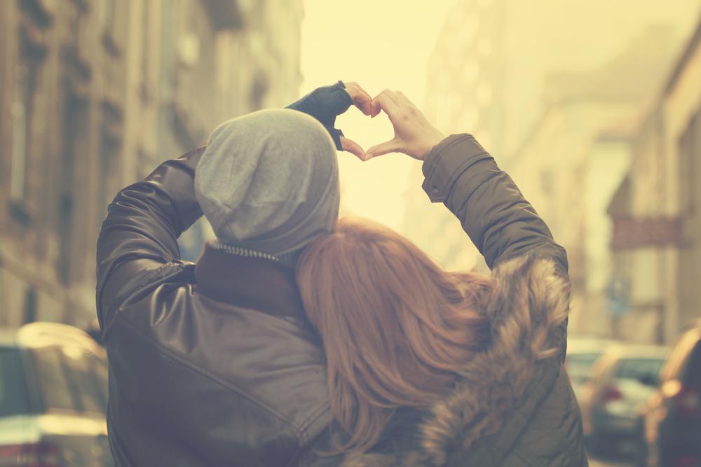 couple love hands