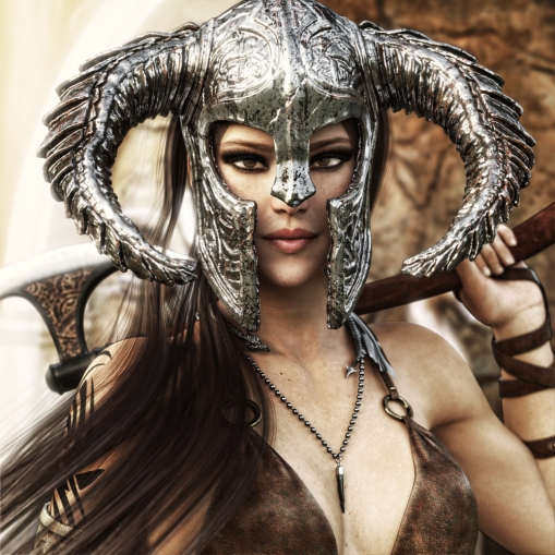 fantasy warrior woman