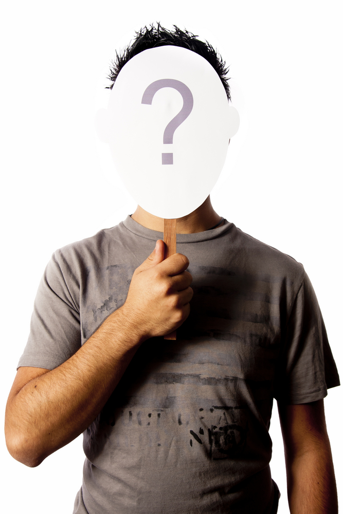 identity question mark