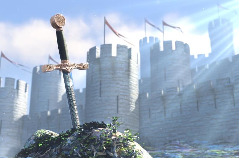 merlin sword