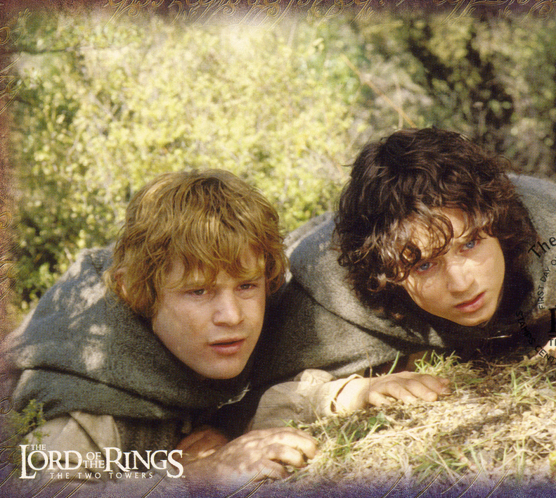 Frodo and Sam cropped
