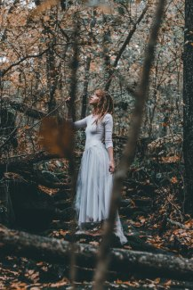 taylor-bryant-453555 woman in forest