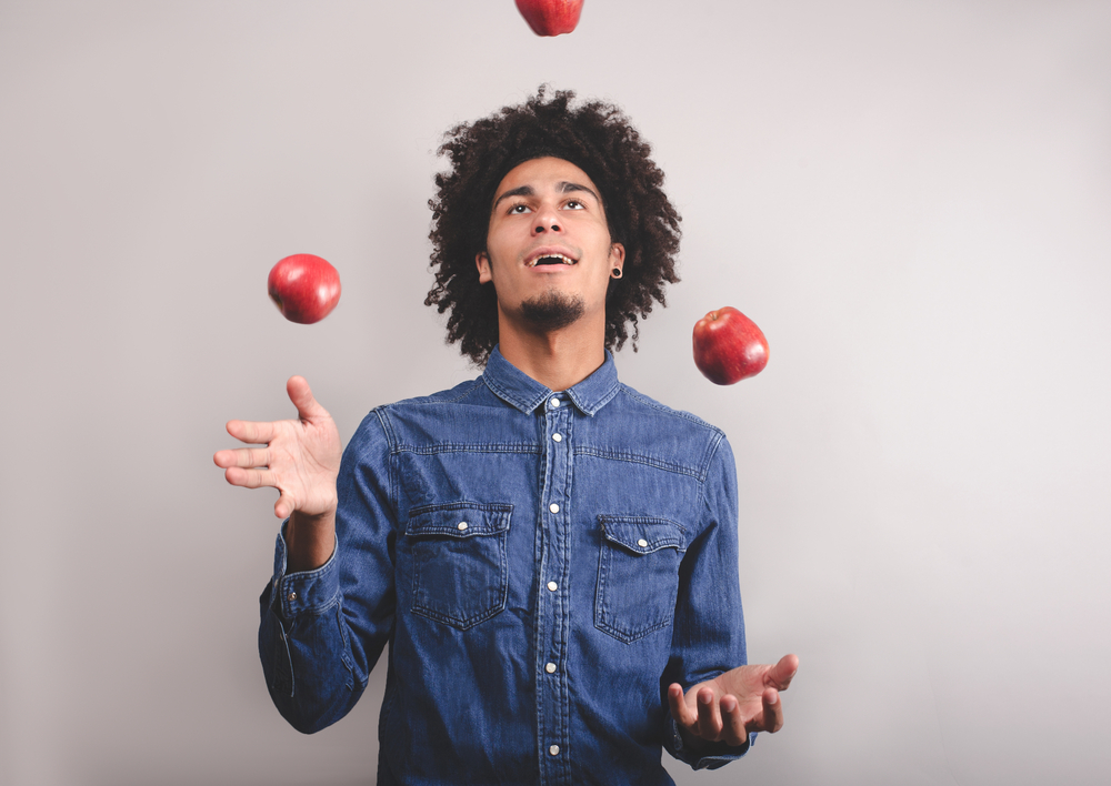 juggling shutterstock_344261867