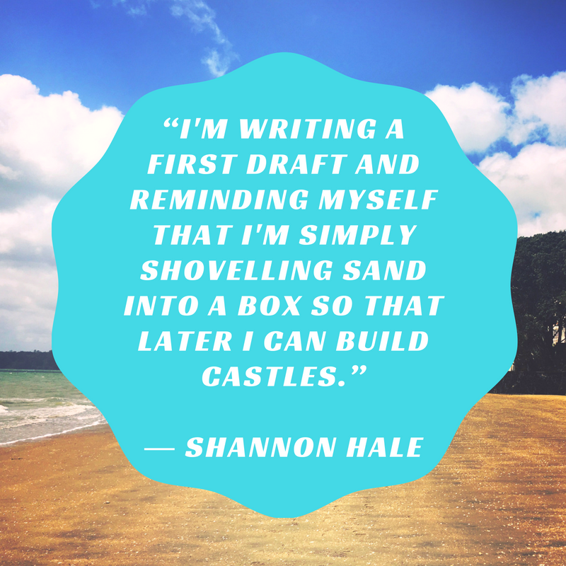 Sandcastle from Sand Shannon Hale Quote